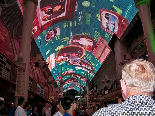 Fremont St Experience Picture Las Vegas