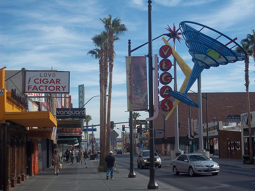 Fremont Street Picture Las Vegas