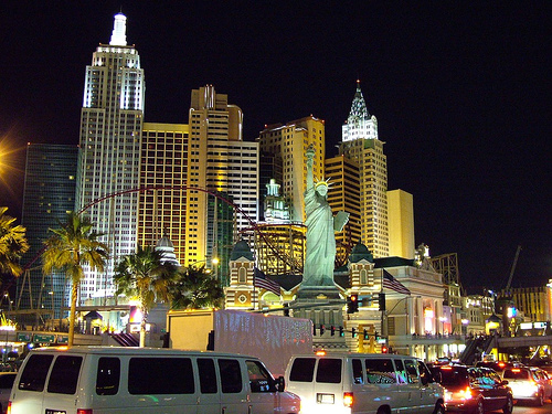 Post image for Lights on the Statue of Liberty | Picture Las Vegas