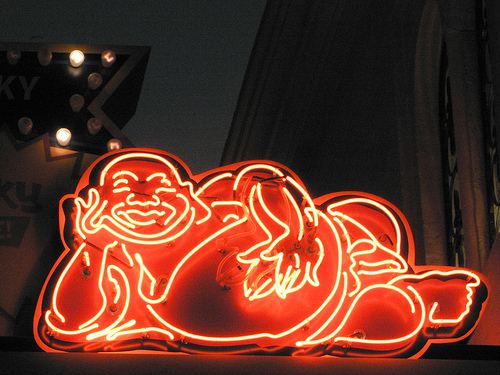 Post image for Neon Buddha | Picture Las Vegas